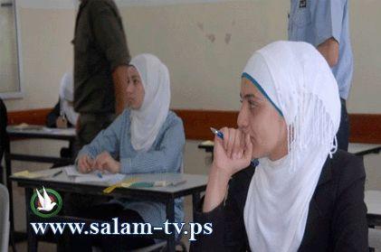 صورة و تعليق : 3890 طالب يقدم امتحان الثانوية العامة في محافظة طولكرم