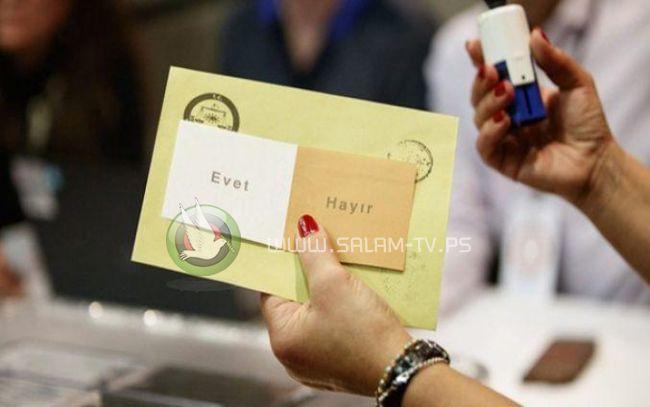 تركيا: المعارضة تشكك بنتائج الاستفتاء