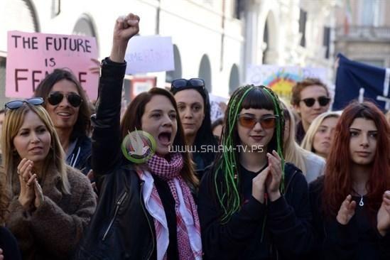مئات الآف النساء في مظاهرات مناهضة لترامب