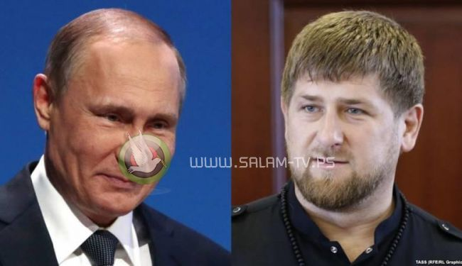 """رئيس الشيشان : مستعد للموت من اجل """"بوتين """""""