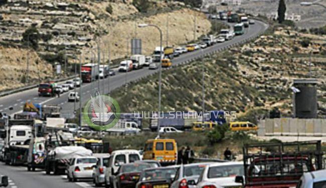 اسرائيل ترفع الطوق الامني المفروض عن الضفة الغربية