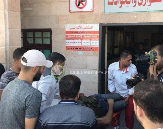 انتشال جثامين 3 شهداء ومصاب شمال قطاع غزة