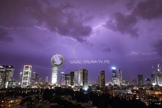 اسرائيل تتوقع عاصفة مدارية عنيفة قبالة سواحلها