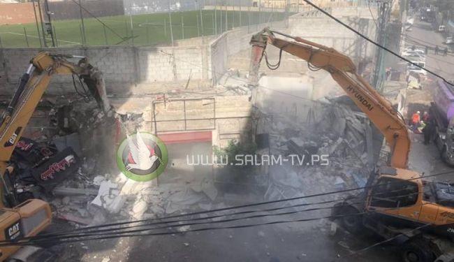 الاحتلال ينفذ أكبر عملية هدم مبان ومنشآت فلسطينية بالقدس