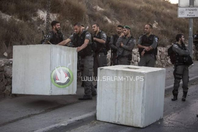 الاحتلال يواصل اقتحام سلفيت واغلاق جميع مداخلها