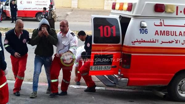 6 إصابات في حادث سير