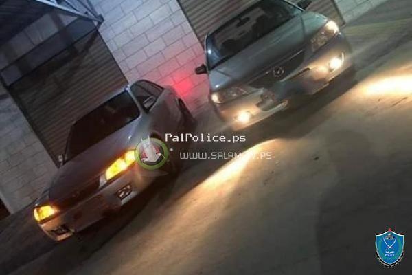 الشرطة تقبض على 3 اشخاص بتهمة التفحيط وأقلاق الراحه العامة وتضبط مركباتهم في طولكرم
