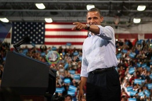 اوباما يفوز برئاسة الولايات المتحدة لولاية ثانية