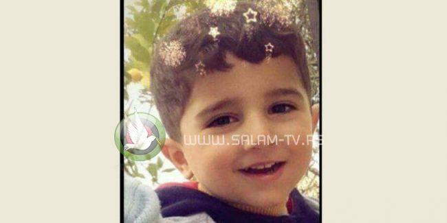 وفاة طفل من بلدة طمون جنوب طوباس متأثراً بإصابته بحادث سير