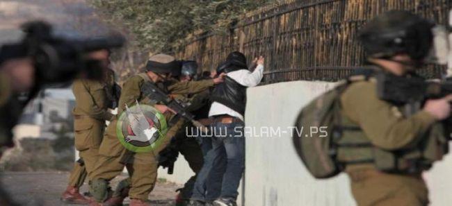 الاحتلال يدعي اعتقال احد المطلوبين له في حزما