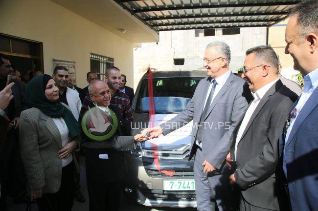 مكرمة رئاسية لجمعية الشعراوية لذوي الاحتياجات الخاصة في عتيل .. شاهد الفيديو