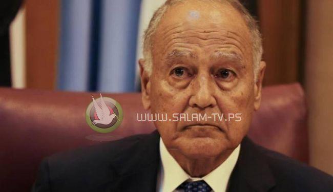 """ابو الغيط : """"القضية الفلسطينية ضاعت """""""