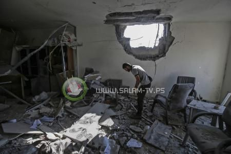 5 شهــداء وأكثر من 20 جريحًا في العدوان الإسرائيلي على غزة والمقـاومة تواصل القصف