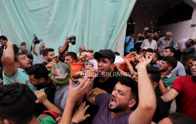 غزة تودع شهيديها حرارة وشتات