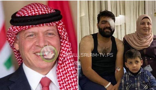 العاهل الأردني يوجه بمتابعة حالة معاذ عمارنة