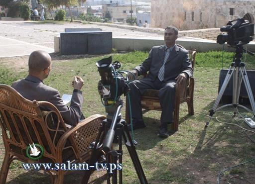 أوتار فلسطينية : برنامج طربي على شاشة تلفزيون السلام بطولكرم