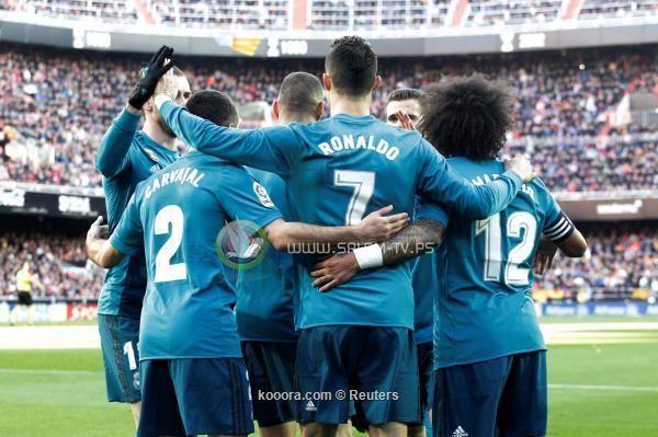 ريال مدريد يكتسح فالنسيا في الميستايا برباعية