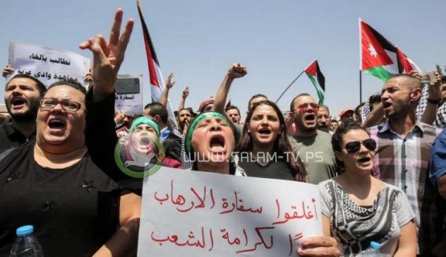 الاردن لاسرائيل : لا تعيدوا بعثتكم الدبلوماسية لعمان
