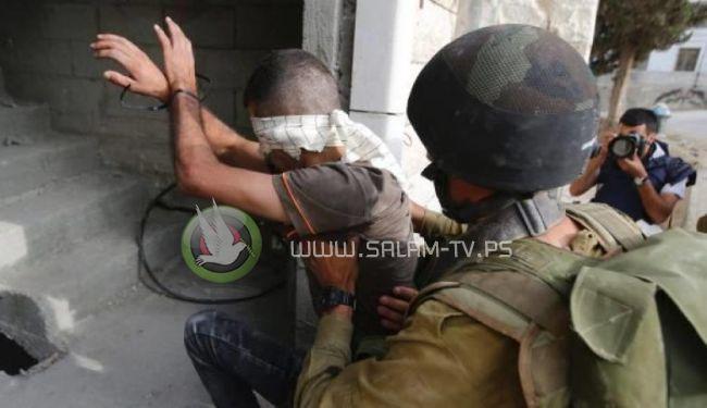 الاحتلال يعتقل 19 مواطناً بينهم كفيف من الضفة