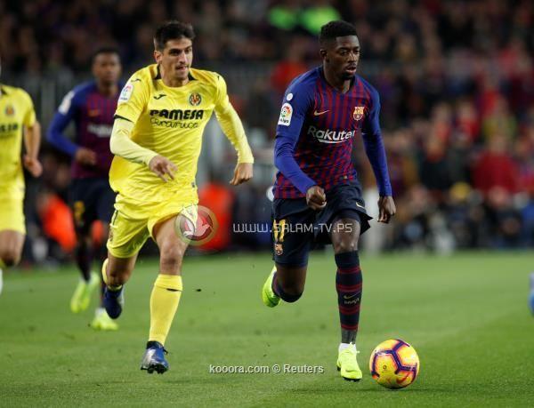 برشلونة يعبر فياريال بثنائية فاترة