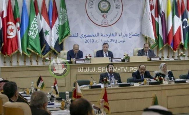 وزراء الخارجية العرب يجتمعون لبحث الأوضاع الفلسطينية