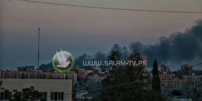 رشقات صاروخية - اصابة 5 مستوطنين احدهم خطيره بسقوط قذيفة على حافلة للمستوطنين