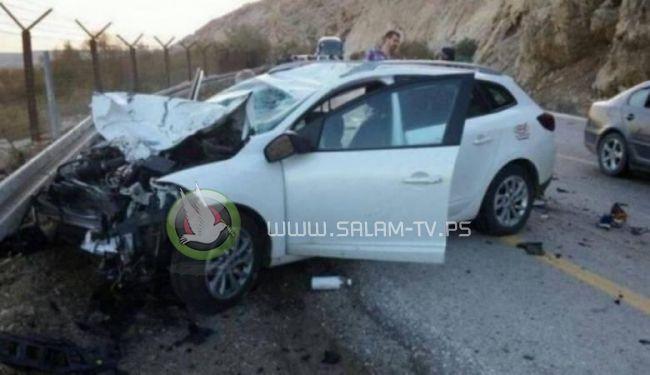مصرع شاب في حادث سير ذاتي بطوباس