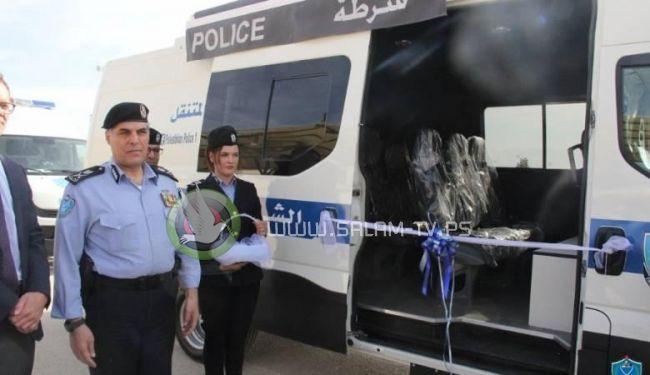 الشرطة تتسلم 3 مراكز شرطة متنقلة حديثة بدعم من المانيا