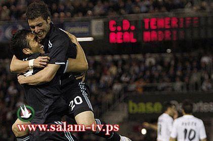 ريال مدريد يفوز على تينيريفي بخماسية وابداع جماعي من الفريق