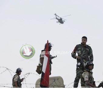مقتل جندي مصري برصاص قناصة في الشيخ زويد
