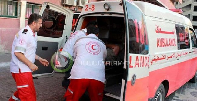 8 اصابات بينهم عائلة كاملة في حادث سير