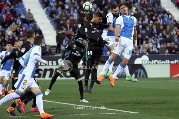 ريال مدريد يواصل التعافي بثلاثية في ليجانيس