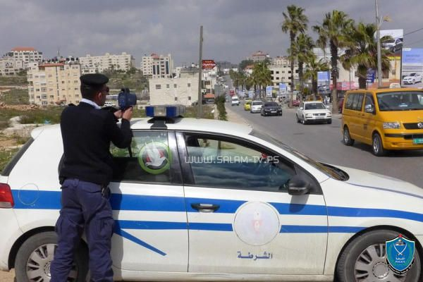 الشرطة تضبط 27 مركبه خاصة تحمل ركاب مقابل أجر في طولكرم
