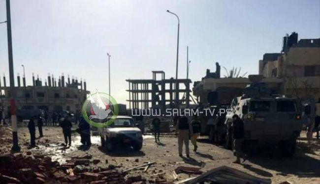 """مقتل """"10"""" جنود مصريين وسط سيناء"""