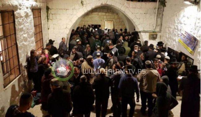 اعتقالات- مستوطنون يقتحمون قبر يوسف بنابلس