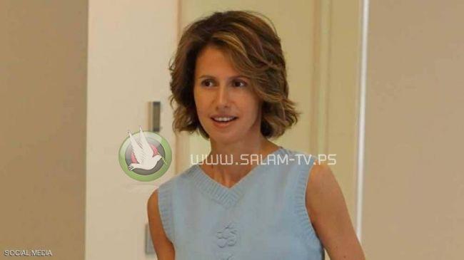 ماذا قالت أسماء الأسد في أول تعليق على إصابتها بالسرطان؟