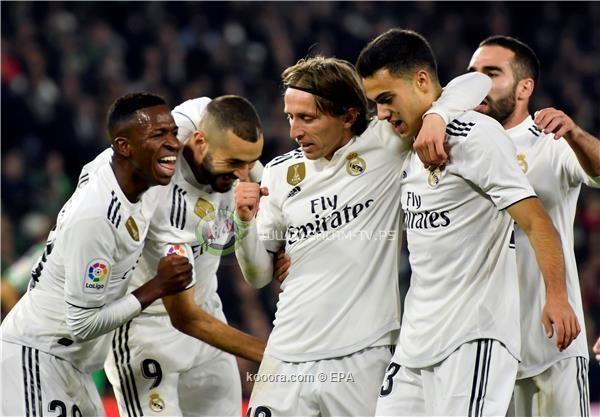 ريال مدريد يحقق انتصارا قاتلا على بيتيس