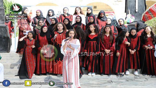إحياء يوم التراث الفلسطيني في مدرسة العدوية بطولكرم - شاهد الصور والفيديو