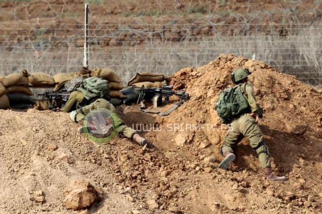 مئات الاصابات على حدود غزة واسرائيل تقصف خان يونس والبريج