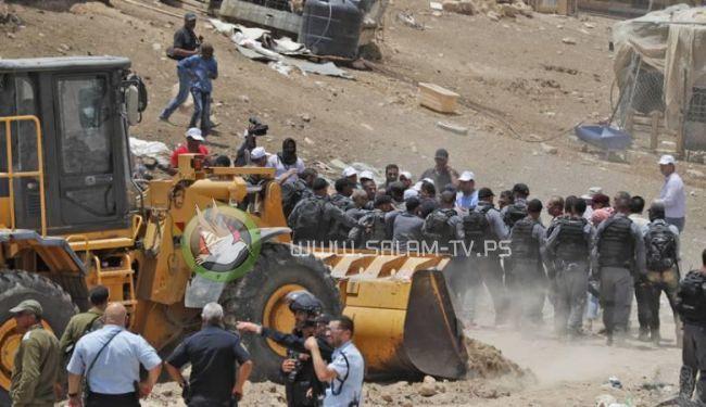 أول اجراء فلسطيني ردا على نتنياهو واستنفار كامل في الخان الاحمر