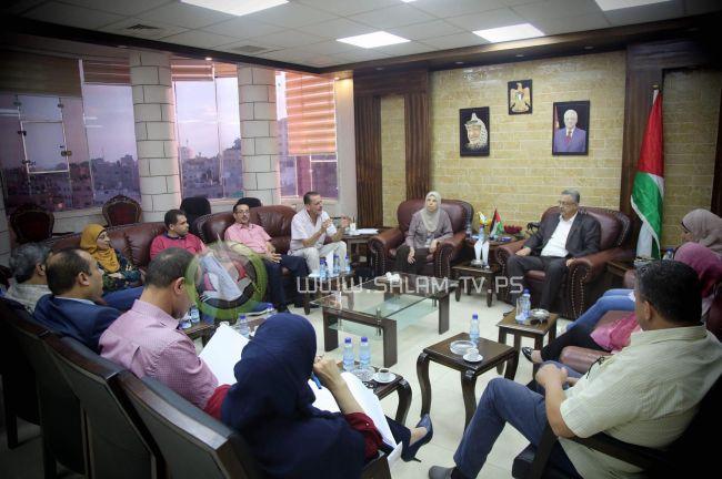 محافظ طولكرم عصام أبو بكر يترأس الاجتماع الدوري لمجلس إدارة صندوق التكافل الخيري