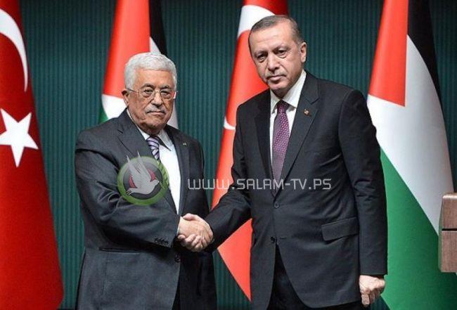 الرئيس يبحث مع أردوغان العدوان الإسرائيلي على غزة