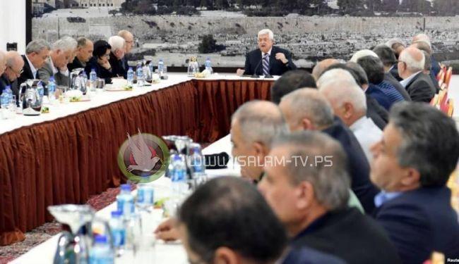 اجتماع عاجل للقيادة الفلسطينية الخميس المقبل
