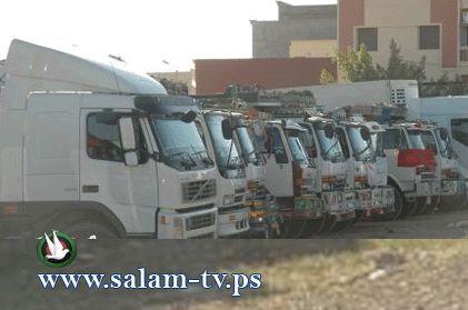 نقابة سائقي النقل العام تعلن الاضراب على معبر الطيبة الخميس القادم