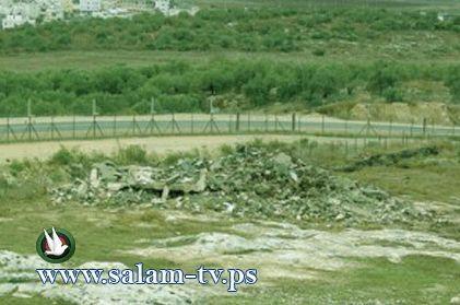 طولكرم:الاحتلال يستعد لهدم ملعب فرعون..ويوقف بناء سبع منشأت في البلدة