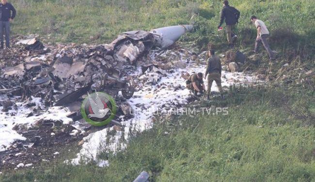 فلسطيني يقاضي جيش الاحتلال بسبب سقوط طائرة اف 16
