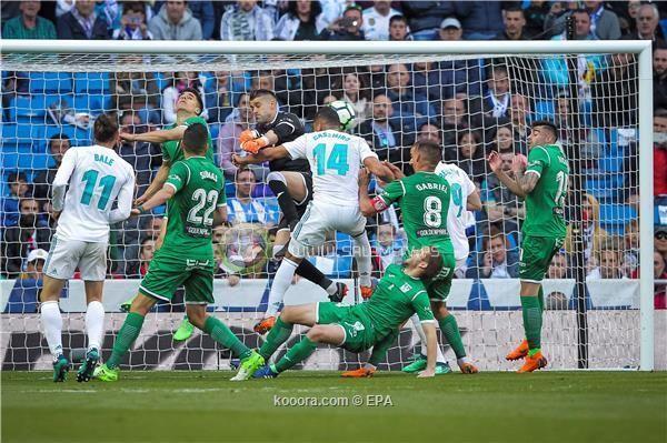 فوز باهت لبدلاء ريال مدريد على ليجانيس