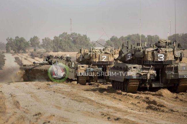 توغل محدود لآليات الاحتلال شرق رفح وسط إطلاق نار وتجريف وتحليق لطائرات الاستطلاع