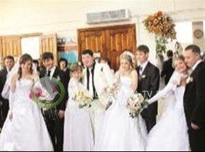 4 أشقاء يتزوجون.. في اليوم نفسه