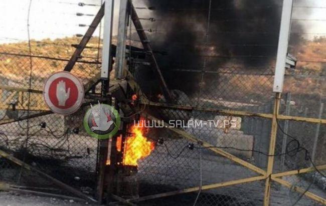 الاحتلال يغلق بوابة قفين شمال طولكرم